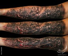 war horses tattoo by sebastian żmijewski 11 tattoo artist sebastian . Tattoo Care, Tattoo You, New Tattoos, Tatoos, Finger Tattoo Designs, Finger Tattoos, Polish Tattoos, Animal Tattoos, Tattoo Studio