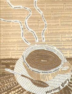 Kathleen Grace, Morning Glory, collage, Sept. 2011