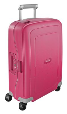 S'Cure Bright Pink 69cm #Samsonite #SCure #Travel #Suitcase #Luggage #Strong #Lightweight #MySamsonite #ByYourSide