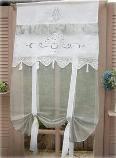 Easy And Cheap Useful Tips: Hanging Curtains In Apartment dark linen curtains.Dark Linen Curtains no sew curtains hem.No Sew Curtains For Nursery. Nursery Curtains, Rustic Curtains, Cheap Curtains, Simple Curtains, Curtains, Bay Window Curtains, Shabby Chic Kitchen, Lace Curtains, Curtains With Blinds