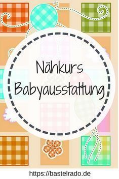DIY Challenge We sew a baby equipment - nähen - Baby Diy Baby Set, Baby Sewing, Free Sewing, Sew Baby, Sewing Projects For Beginners, Diy Projects, Sewing Dress, Baby Equipment, Diy Bebe