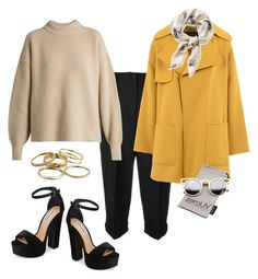 """Dressed For Brunch"" by sweetyincago ❤ liked on Polyvore featuring Dolce&Gabbana, The Row, Barbara Bui, Kendra Scott, ZeroUV, Steve Madden and L.L.Bean"