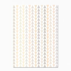 Pale Triangles Postcard