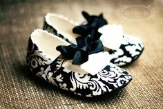 Damask Shoes by Kirsty Ballantyne