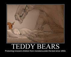 Aww brave teddy