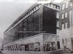 Penn Traffic Store after late 50s remuddle of exterior.