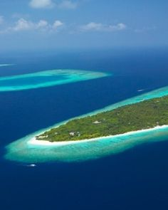 Embrace the beauty of the #Maldives from a distance.