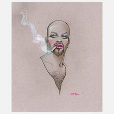 Smoke Print now featured on Fab.