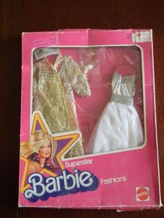 1977 Superstar BARBIE Fashions carded outfit #2252 Soft & Shimmering RARE