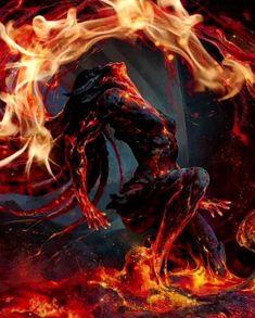 ❤️ The fire in you🌈🌹💋💋💋 - Video - - Horror Art, Cool Artwork, Psychedelic Art, Fantasy Art, Fantasy Women, Creature Art, Fantasy Creatures Art, Dark Fantasy Art, Cartoon Art