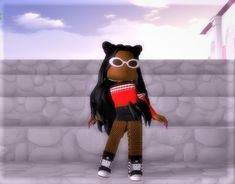 Profile Picture For Girls, Cute Profile Pictures, Wallpaper Iphone Cute, Cool Wallpaper, Roblox Funny Videos, Roblox Roblox, Roblox Pictures, Cute Anime Chibi, Drawing Girls