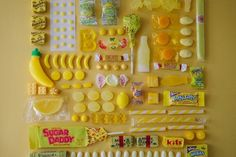 These obsessively organized photographs take us back to our childhood days when sweets were prized...