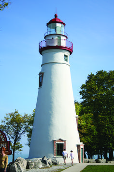 Marblehead Lighthouse - Marblehead, Ohio. #attraction