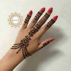 Henna hand design                                                                                                                                                      More