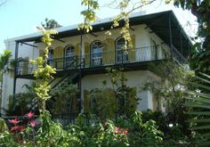 The Hemingway house in Key-west, florida
