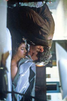 Rachael Tyrell (Sean Young) and Rick Deckard (Harrison Ford) - Blade Runner