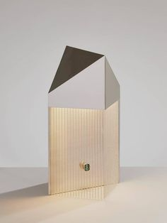 Silver Veil Table Lamp by Pelle and Erie Basin 2