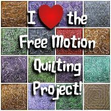 The Free Motion Quilting Project: Free Motion Quilt Along
