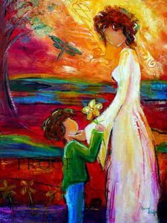 family painting by karrie evenson Art And Illustration, Family Painting, Mother Painting, Children Painting, Art Design, Painting Techniques, Love Art, Art Tutorials, Painting Inspiration