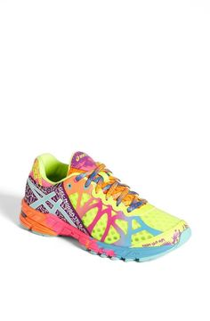 I love my current Asics...but when the day comes to get new ones...I want something so very colorful! Love these!