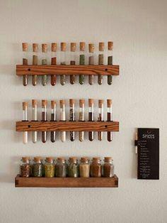 Un especiero muy original #decoracion #cocina #hogar