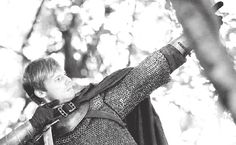 Arthur (Bradley James) #Merlin | via http://sireleonofcamelot.tumblr.com/post/42442428591