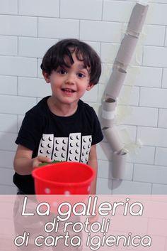Attività per bambini: La galleria di rotoli di carta igienica