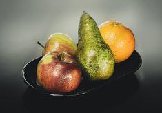 Apple, pear and orange salad