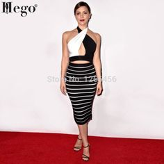 HEGO 2015 Women New Fashion Brand Two Sets Bandage Celebrity Dress H1182 Fashion Brand, New Fashion, Celebrity Dresses, New Model, Dresses For Work, Celebrities, Sexy, Women, Celebrity Gowns