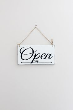 Business Sign Open Closed Sign Store Sign Custom Sign by InMind4U