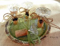 diy gemstone wine corks from so chic and such a. Black Bedroom Furniture Sets. Home Design Ideas