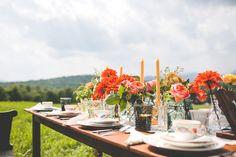 Rustic antique vermont wedding photography A Schoolhouse Garden flowers