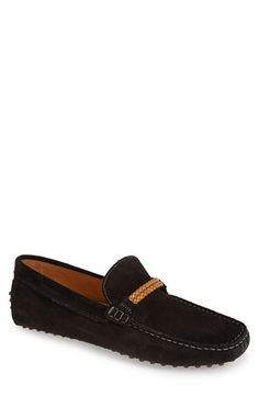 ALDO 'Nydausen' Suede Driving Shoe (Men) available at #Nordstrom