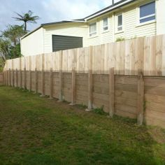Retaining Wall & Fence - After