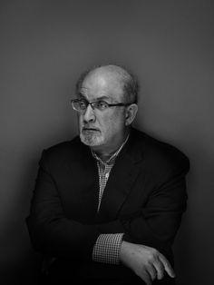 Nadav Kander photographs author Salman Rushdie