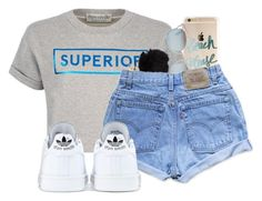 """""""Happy 4th of July!!"""" by mickey733 ❤ liked on Polyvore featuring Être Cécile, Christian Dior, Levi's and adidas"""