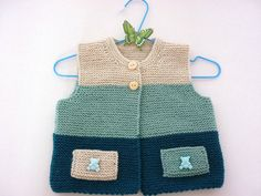 Knitting baby patterns.Knit baby vestKnitted baby от AnaSwet