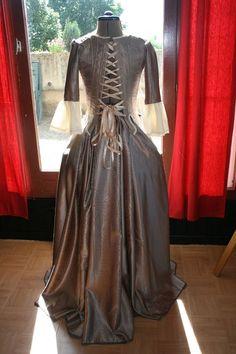 robe  d'or angélique