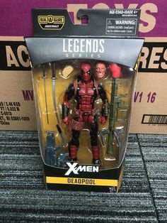marvel legends deadpool from juggernaut wave  x men legends