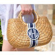 Large Oval Bali Bow With 3D Motif Bag At The Pink Monogram