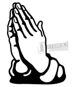 praying hands with rosary beads printable vector svg art rh pinterest com praying hands vector art muslim praying hands vector