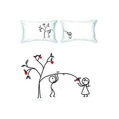 great for couple's pillow cases