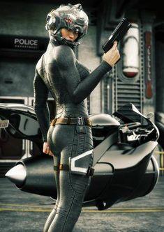 Into Star Citizen Star Citizen, Arte Sci Fi, Sci Fi Art, Foto Picture, Female Police Officers, Cyberpunk Girl, Space Girl, Futuristic Art, Sci Fi Characters