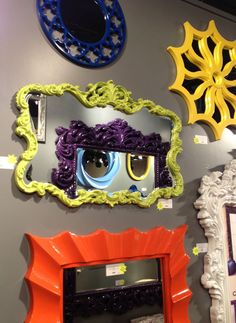Storybook painted mirrors! #hpmkt