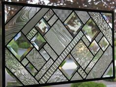 Clearly Lovely: Modern Clear Stained Glass