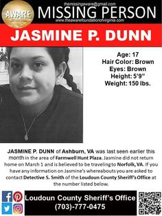 Find Missing Jasmine P Dunn! Missing Child, Missing Persons, Amber Alert, American Crime, Losing Someone, We The People, Jasmine, Vancouver, Pray