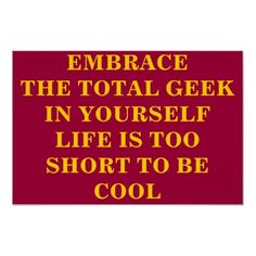 Good advice. Clearly not needed with me, but good for others. :)