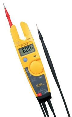 Fluke T5-600 600V Voltage Continuity And Current Tester, 2015 Amazon Top Rated Electrical Testing #HomeImprovement