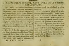 """""""Patterns of British Manufacture."""" February 1811."""
