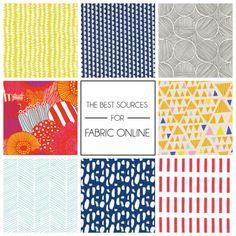 Best Online Fabric Stores | Emily Henderson | Bloglovin'